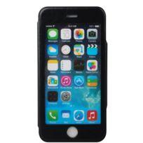 My way - Etui Folio case full view noir pour Apple iPhone 6