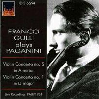 Istituto Discografico Italiano - Niccolo Paganini - Concertos pour violon no. 1 et 5