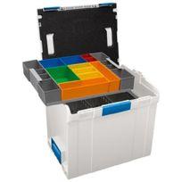 L-boxx - Sortimo International 1000000099 Sortimo 374 Coffre De Rangement Avec Botes Outils Et Sparations En Tle