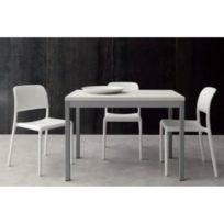 Table salle manger 70 cm largeur achat table salle for Table largeur 70 cm avec rallonge