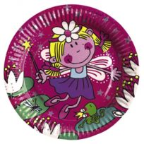 Amscan - 8 Assiettes Funky Fairy