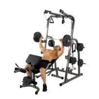 Hammer - Station de musculation Solid Xp + kit poids 76kg 4514