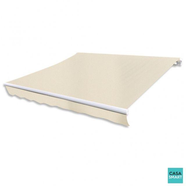 casasmart toile de remplacement pour store banne beige 3. Black Bedroom Furniture Sets. Home Design Ideas