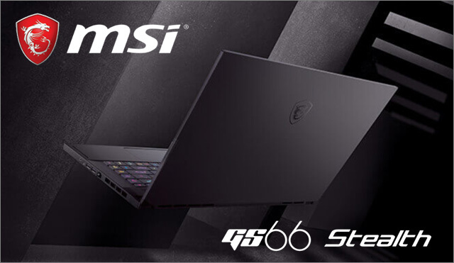 MSI GS66 Stealth
