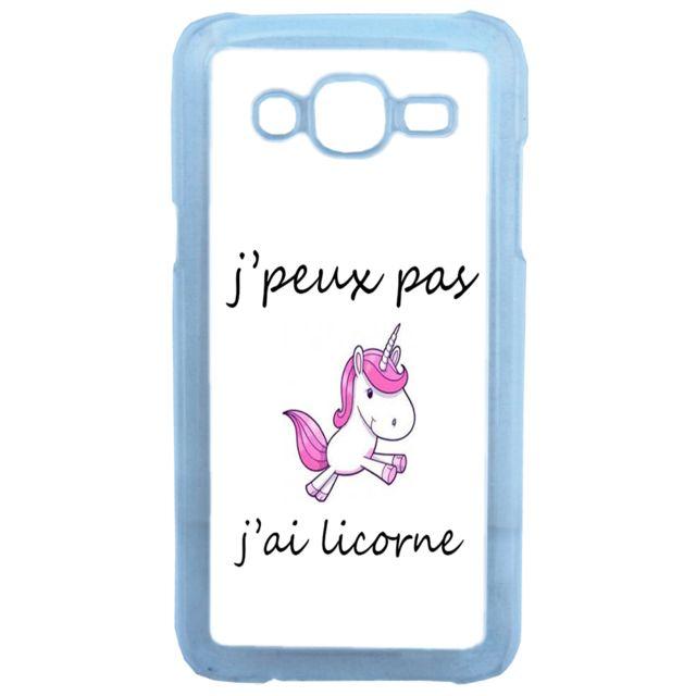 coque telephone samsung j3 6 licorne