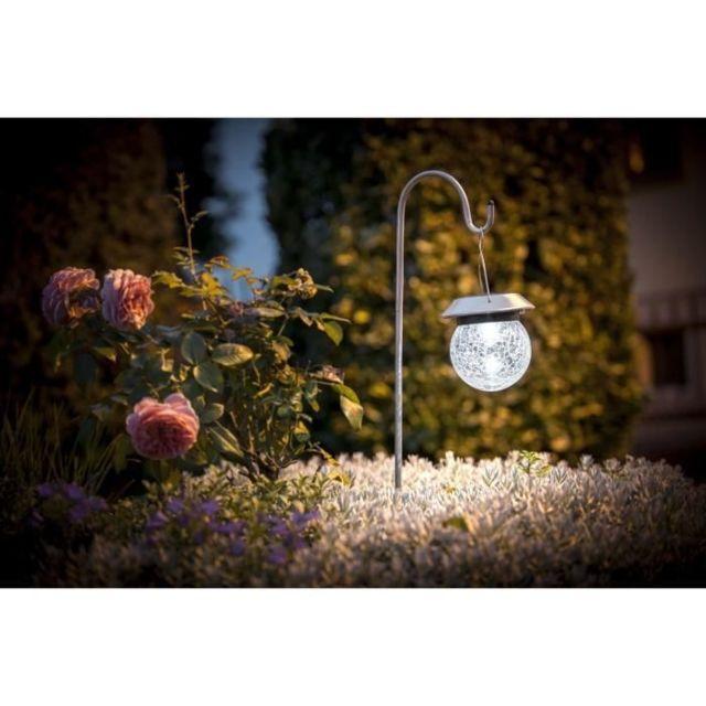 LAMPION D'EXTERIEUR - LANTERNE D'EXTERIEUR Lanterne solaire inox