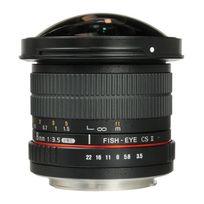 Samyang - 8 mm f/3.5 Umc Cs Ii FishEye Pentax