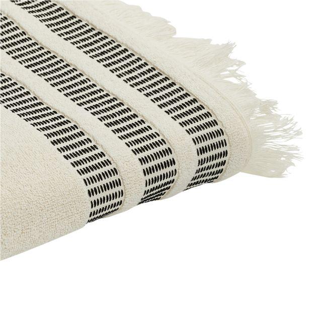 TEX HOME Drap de douche ORIENT en coton Drap de douche ORIENT en coton 70x140 cm - écru