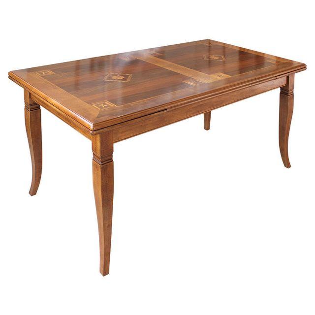 Artigiani Veneti Riuniti Table marquetée cm 170 -250 à rallonge