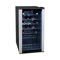 Climadiff - Cave à vin de service - 1 temp 28 bouteilles - Noir Aci-cli802 - Pose libre