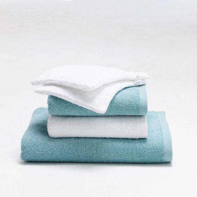 TEX HOME - Serviette de toilette blanc