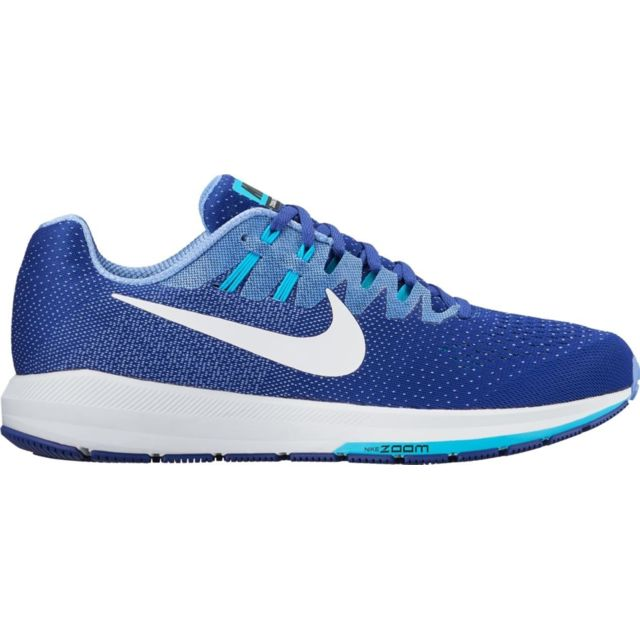 lowest price 286ce 08027 Nike - Nike Air Zoom Structure 20 Bleue chaussure Nike
