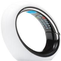 Aeg - Téléphone Fixe Sans fil avec répondeur Eclipse 15 Solo Blanc