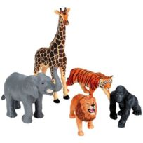 Learning Resources - jumbo animaux de la jungle - lot de 5