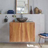 Meuble Salle De Bain Bois Catalogue 2019 Rueducommerce Carrefour