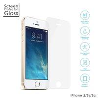 Cabling - Apple iPhone 5/5S/5C Film Protection en Verre trempé écran protecteur ultra résistant Glass Screen Protector pour iPhone 5/5S/5C