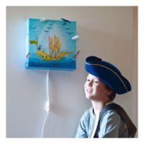 L'Oiseau Bateau lampe enfant - Applique Garçon Pirate