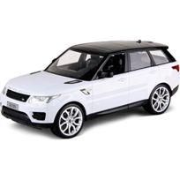 Siva - 50045-ÉCHELLE 1:14 Auto Et Range Rover Sport Verkehrsmodelle Blanc