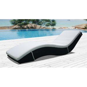 Concept usine bain de soleil transat en r sine tress e for Chaise longue resine tressee pas cher