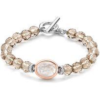 Ti Sento - Bracelet 2864TB - Bracelet Cristaux Marron Femme