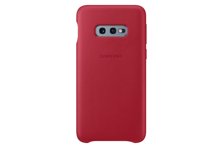 Coque cuir Galaxy S10e - Finesse et Ergonomie - Protection dos et rebords