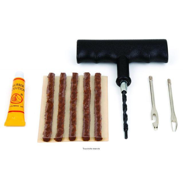 kyoto kit r paration meche longue x1 pneu tubeless pas. Black Bedroom Furniture Sets. Home Design Ideas