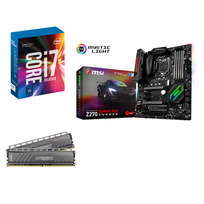RUE DU COMMERCE - Kit EVO Kaby Lake i7 OC MA - INTEL Core i7-7700K - MSI Z270 Gaming Pro Carbon - 16 Go DDR4 BALLISTIX Tactical