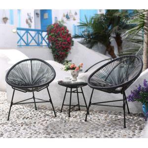 Concept usine acapulco ensemble 2 fauteuils oeuf for Jardin 7 17 acapulco