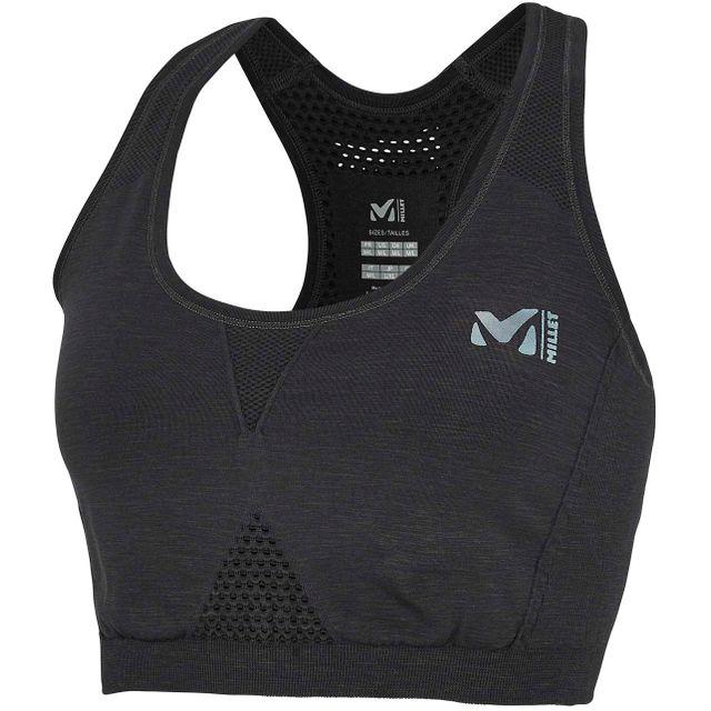 Millet - Ld Seamless Medium Power - Brassière de sport - noir - pas cher  Achat   Vente Sous-vêtements - RueDuCommerce eecd7f34c2a
