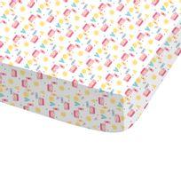Docteur La Peluche - Drap Housse Imprimé Disney Sunshine 60% coton et 40% polyester
