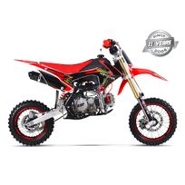 Gunshot - Moto Pit Bike 150 Pro-f - Édition Monster - Rouge - 2017