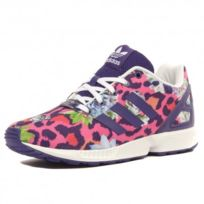 timeless design 5514e d21c8 Adidas originals - Zx Flux Fille Chaussures Violet Rose Adidas