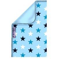 Dooky The Original - Dooky Couverture bicolore - Etoiles Bleues - Uni - Bleu