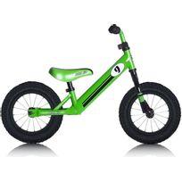 "Rebel Kidz - Vélo Enfant - Air - Draisienne - 12,5"" Race Motiv vert"