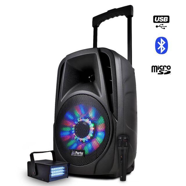 Party Sound Enceinte mobile batterie 8