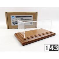 Atlantic Case - 1/43 - Boite-vitrine Show-case 1/43 - Bois Mohagany - 10041