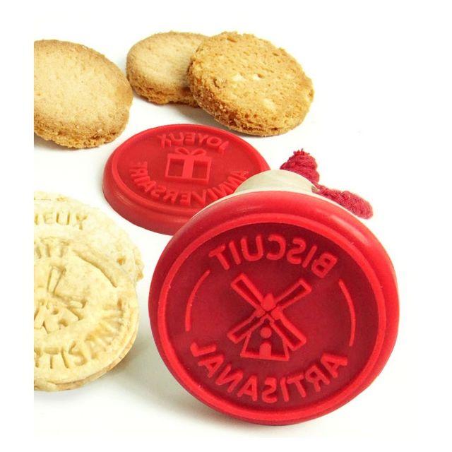 YOKO DESIGN Tampon à biscuits Artisanal