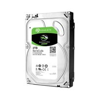 SEAGATE - Disque dur interne Barracuda 3,5'' 2000 Go - Bulk - 7200RPM - 64Mb - SATA 6.0Gb/s - ST2000DM006