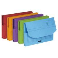 Esselte - pochettes à rabat ultimate couleur assortie - paquet de 25