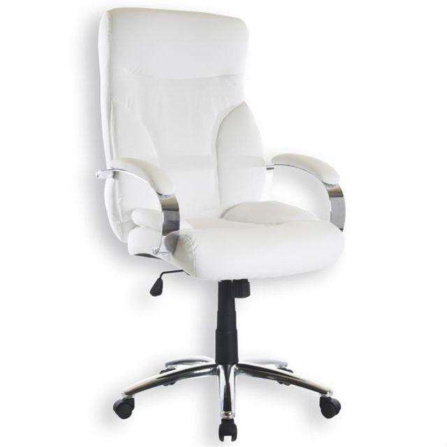 chaise de bureau blanc accoudoir pliable