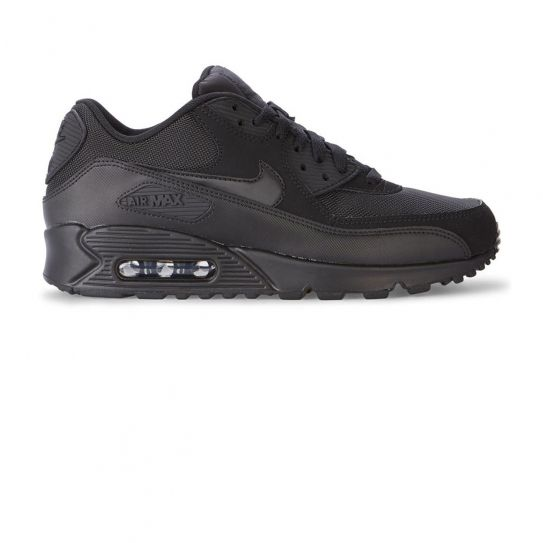 Nike - Chaussures Air Max 90 Essential Black/Black h16 Noir