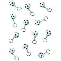 Amscan - Porte-clés ballon de foot x12