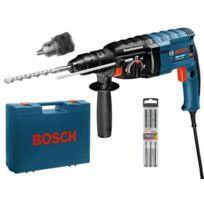 Bosch - Perforateur OUTILLAGE GBH 2-24 DF Professional SDS-plus + set de 3 forets + coffret - 06112A0403