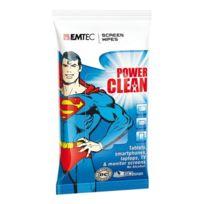 Emtec - Lingettes Power Clean Superman