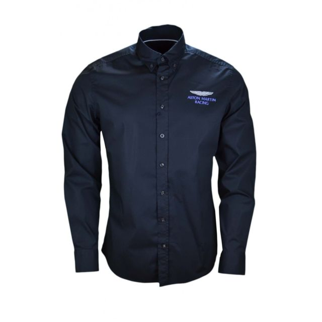 hackett chemise aston martin noire pour homme xxl pas cher achat vente chemise homme. Black Bedroom Furniture Sets. Home Design Ideas