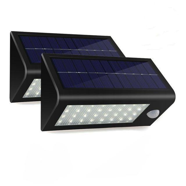 Couloir Pir Pour Lampe Led Maison Solaire Eclairage Avec Tournevis En 400 Lumiere Lumens Etanche P 32 D'exterieur Jardin Aj43cqR5L
