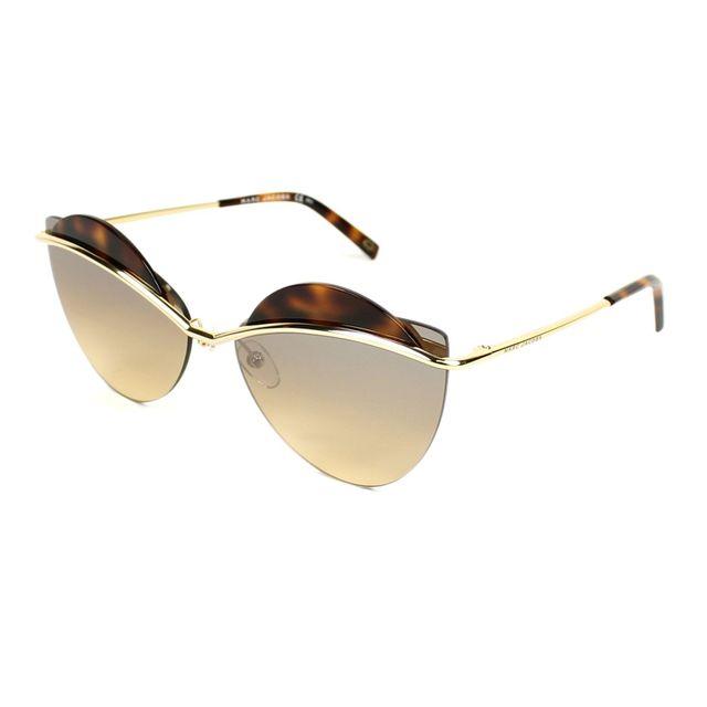 55c838d298 Marc Jacobs - Lunettes de soleil Marc-104-S J5G Femme Or - pas cher ...