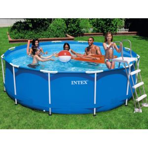 Intex piscine tubulaire ronde chelle filtre for Echelle piscine intex