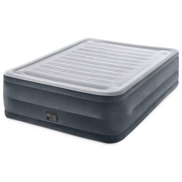 Magnifique Matériel de camping collection Bakou Intex Matelas gonflable Dura-Beam Deluxe Comfort Plush Reine 56 cm