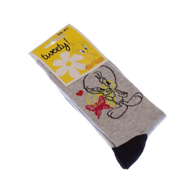 Coton Color/ées Disney 1 paire Sans bouclette Chaussette Mi-Hautes